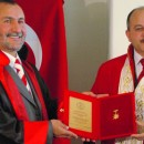 International Vector Science Center's  Award for the Turkish World, Gold Medal  and Plaque for Distinguished Service