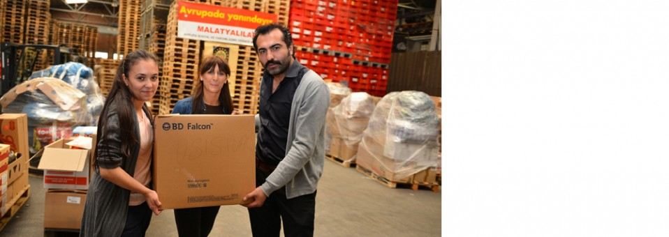 One truckloads of food aid to Bosnia-Herzegovina affected by floods